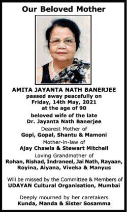 Sad-Demise-Our-Beloved-Mother-Amita-Jayanta-Nath-Banerjee-Ad-Times-Of-India-Mumbai-15-05-2021