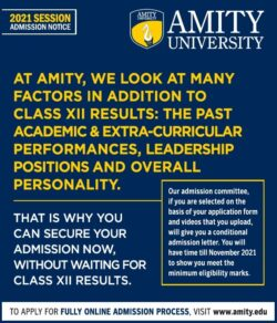 amity-university-2021-session-admission-notice-ad-times-of-india-delhi-06-06-2021