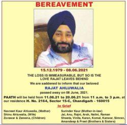 bereavement-rajat-ahluwalia-ad-tribune-chandigarh-09-06-2021