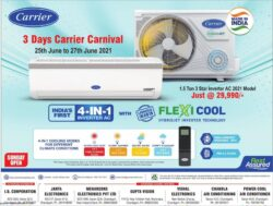 Carrier-3-Days-Carrier-Carnival-Indias-First-4-In-1-Inverter-Ac-Ad-Tribune-Chandigarh-25-06-2021