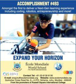 ecole-mondiale-world-school-expand-your-horizon-ad-times-of-india-mumbai-01-06-2021
