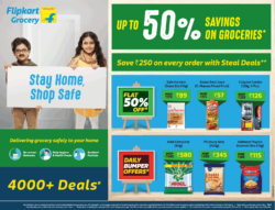 flipkart-grocery-stay-home-shop-safe-up-to-50%-savings-on-groceries-ad-times-of-india-mumbai-06-06-2021