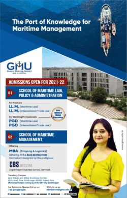 gujarat-maritime-university-admissions-open-for-2021-22-ad-delhi-times-30-05-2021