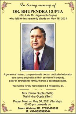 in-loving-memory-of-dr-bhupendra-gupta-ad-times-of-india-delhi-27-05-2021