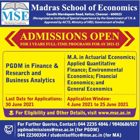 madras-school-of-economics-admissions-open-ad-times-of-india-delhi-04-06-2021