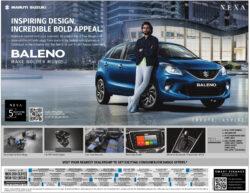 Maruti-Suzuki-Baleno-Inspiring-Design-Incredible-Bold-Appeal-Ad-Amar-Ujala-Delhi-25-06-2021