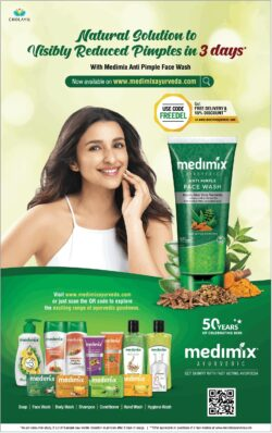 medimix-natural-solution-to-visibly-reduced-pimples-in-3-days-parinidhi-chopra-ad-bombay-times-06-06-2021