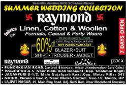 raymond-summer-wedding-collection-ad-amar-ujala-delhi-12-06-2021