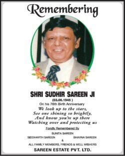 remembering-shri-sudhir-sareen-ji-ad-times-of-india-delhi-03-06-2021
