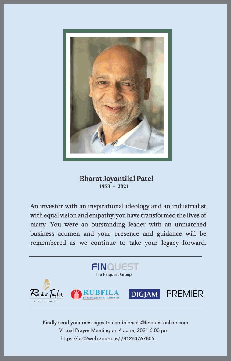 sad-demise-bharat-jayantilal-patel-ad-times-of-india-mumbai-01-06-2021
