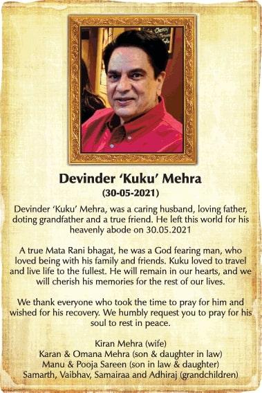 sad-demise-devinder-kuku-mehra-ad-times-of-india-delhi-30-05-2021