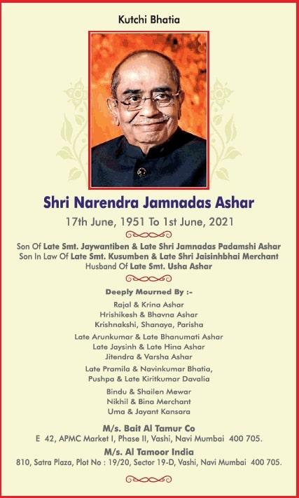 sad-demise-kutchi-bhatia-shri-narendra-jamnadas-ashar-ad-times-of-india-mumbai-03-06-2021