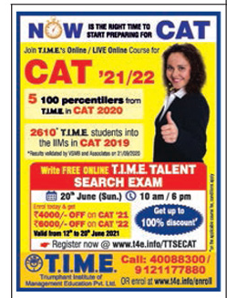 time-join-time-online-live-online-course-for-cat-21-22-ad-deccan-chroncile-hyderabad-19-06-2021