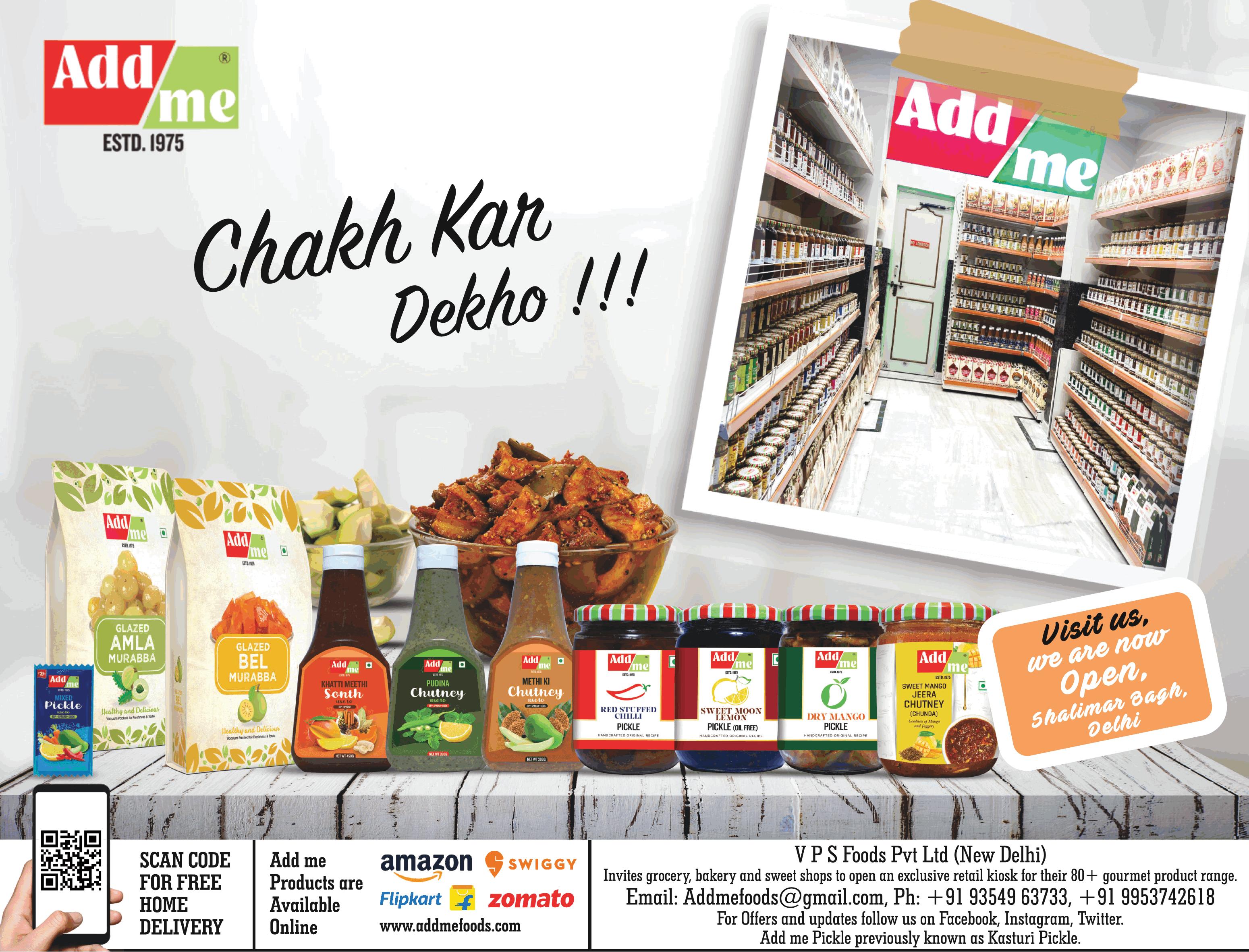 add-me-food-products-chak-kar-dekho-at-shalimar-bagh-ad-toi-delhi-11-7-2021