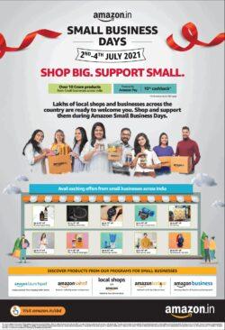 amazon-small-business-days-shop-big-support-small-ad-toi-delhi-1-7-2021
