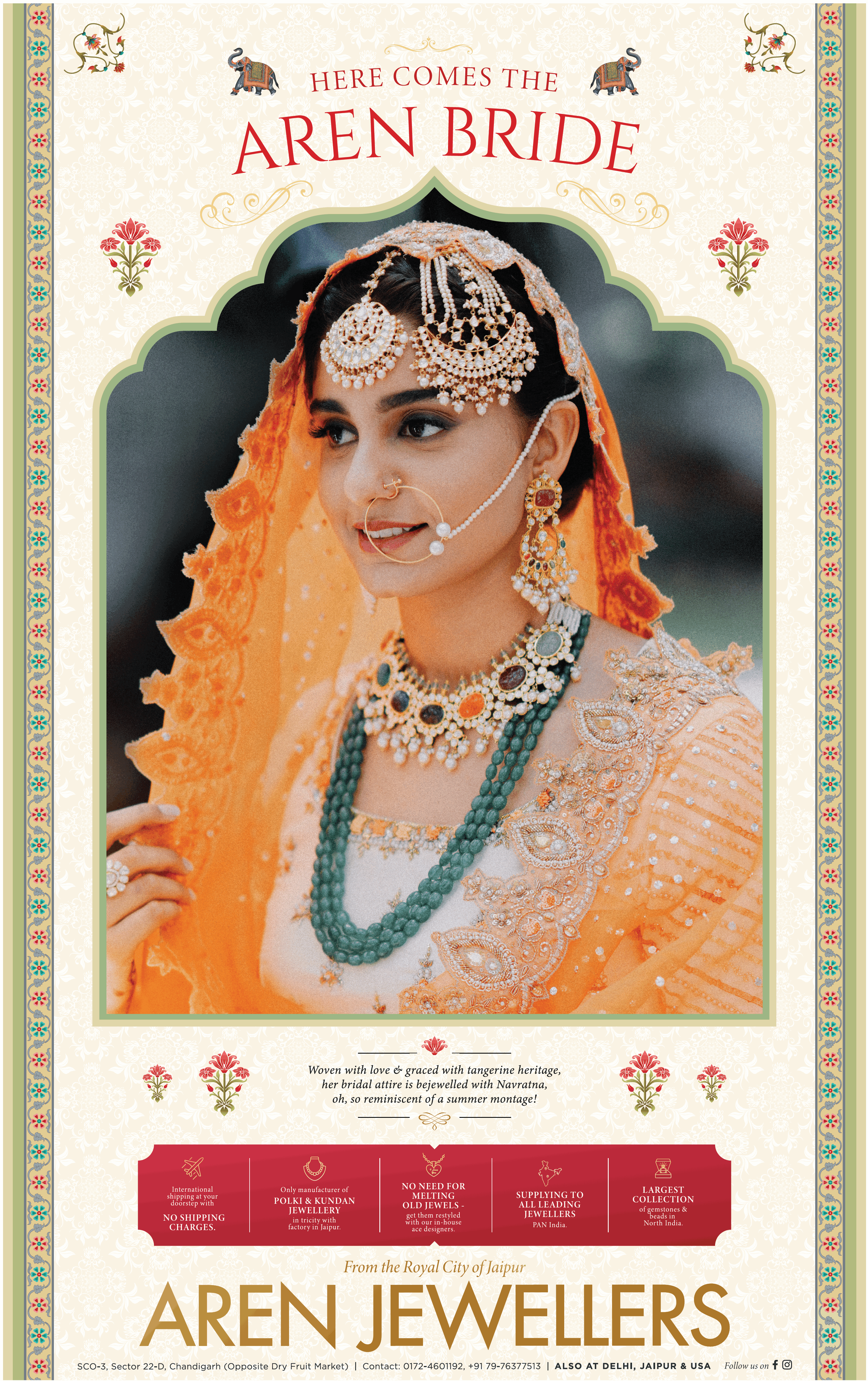 aren-jewellers-here-comes-the-aren-bride-ad-toi-chandigarh-11-7-2021