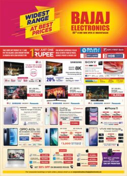 bajaj-electronics-widest-range-at-best-prices-pay-just-one-rupee-and-take-any-product-ad-deccan-chronicle-hyderabad-10-7-2021