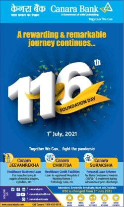 canara-bank-116th-foundation-day-1st-july-2021-ad-toi-delhi-1-7-2021