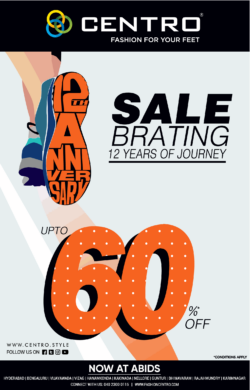 centro-footwear-sale-brating-12th-anniversary-upto-60%-off-ad-times-of-india-hyderabad-9-7-2021