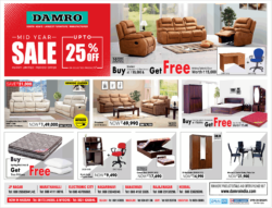 damro-furniture-mid-year-sale-upto-25%-off-on-selected-products-ad-times-of-india-bangalore-10-7-2021