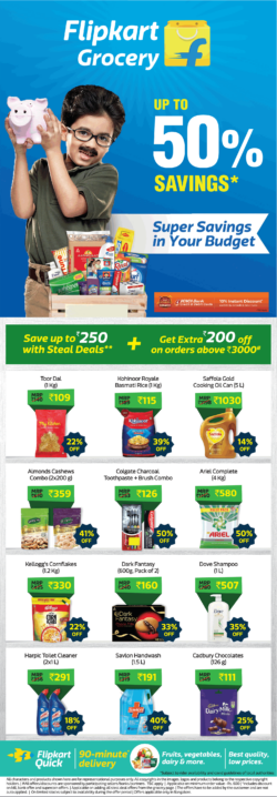 flipkart-grocery-upto-50%-savings-flipkart-quick-90-minute-delivery-ad-times-of-india-bangalore-10-7-2021