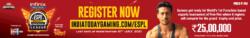 india-today-gaming-espl-esports-premier-league-register-now-tiger-shroff-ad-times-of-india-delhi-9-7-2021