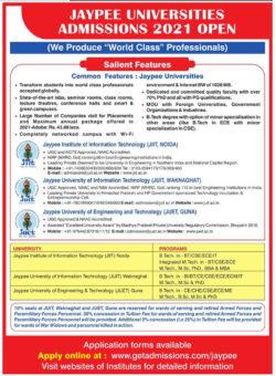 jaypee-universities-admissions-2021-open-ad-amar-ujala-delhi-02-07-2021
