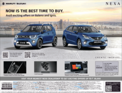 maruti-suzuki-now-is-the-best-time-to-buy-ignis-baleno-ad-times-of-india-delhi-9-7-2021