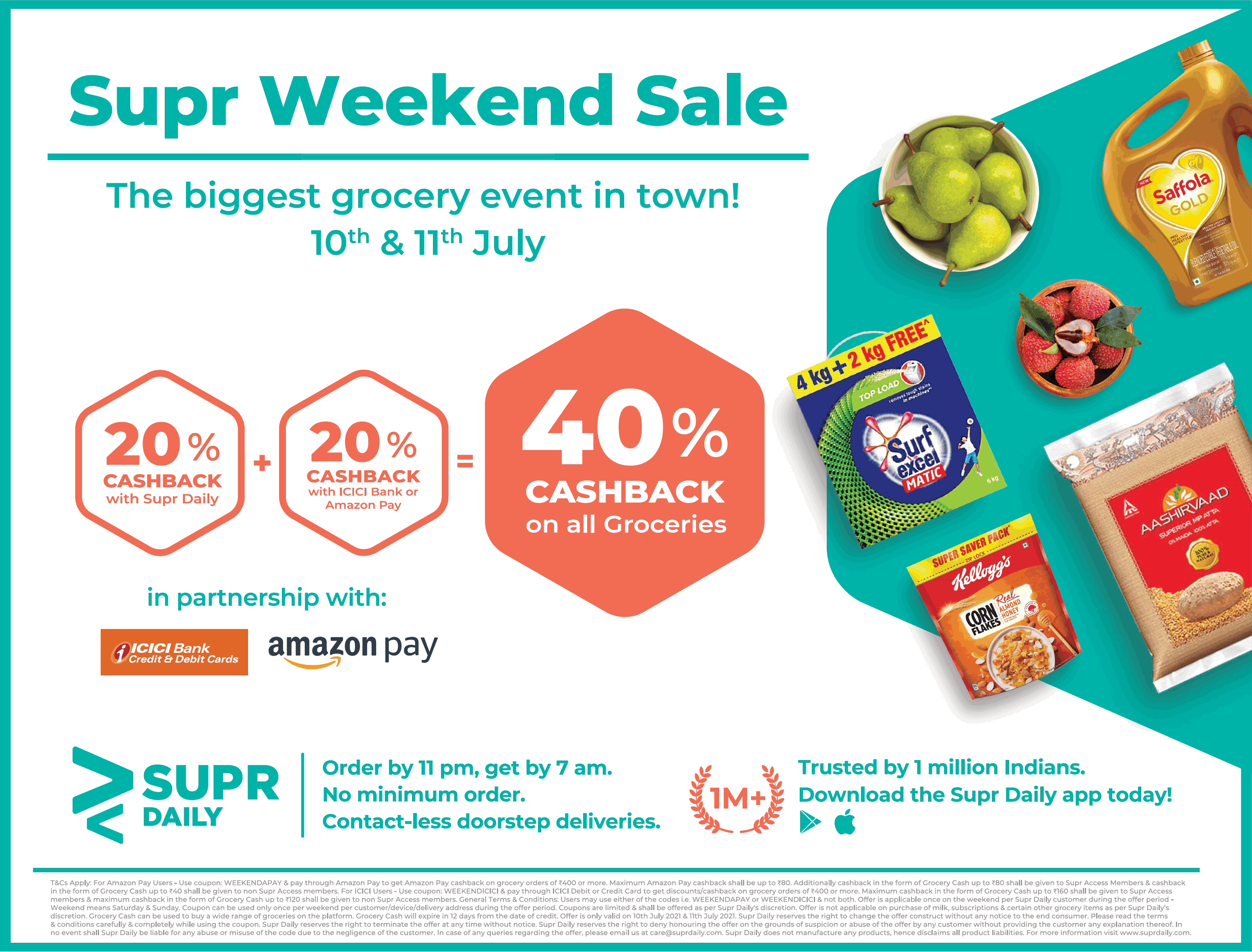 supr-daily-supr-weekend-sale-40%-cashback-on-all-groceries-ad-toi-mumbai-11-7-2021