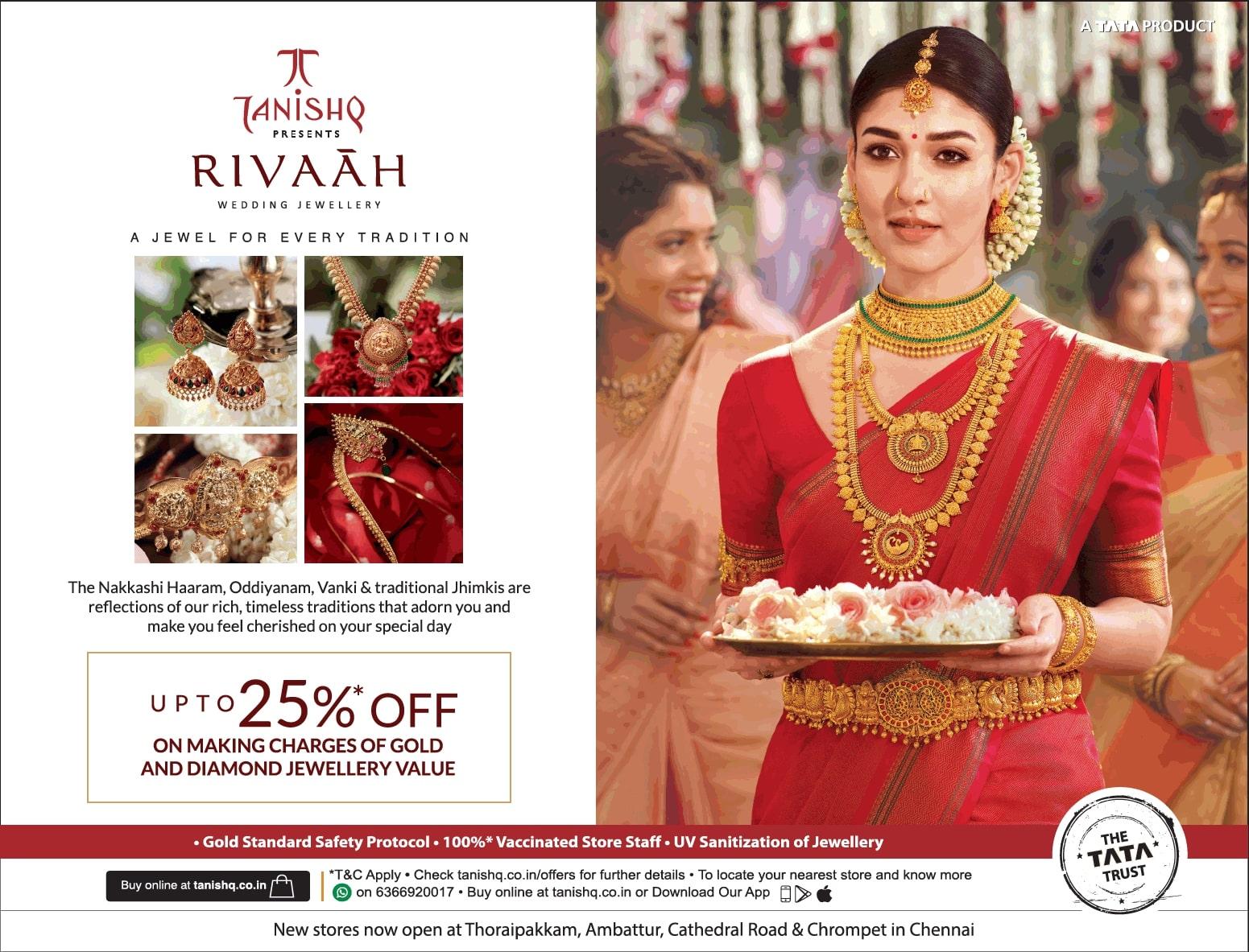 tanishq-rivaah-tamil-wedding-jewellery-the-nakkashi-haaram-oddiyanam-vanki-and-traditional-jhimkis-ad-toi-chennai-1-7-2021