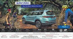 tata-motors-safari-kryotech-6-speed-diesel-automatic-rule-the-roads-reclaim-your-life-ad-eenadu-hyderabad-5-7-2021