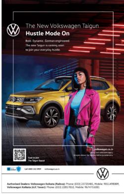 The New Volkswagen Taigun Hustle Mode On Ad