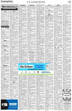 the-tribune-13-6-2021-matrimonial-wanted-groom-classified-sunday-paper