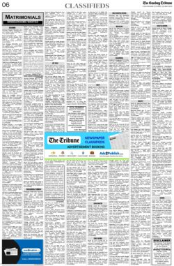 the-tribune-23-5-2021-matrimonial-wanted-groom-classified-sunday-paper