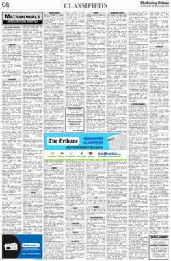 the-tribune-30-5-2021-matrimonial-wanted-groom-classified-sunday-paper