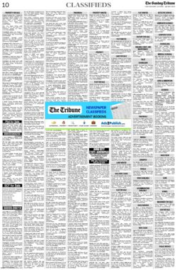 the-tribune-classifieds-sunday-paper-30-5-2021